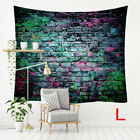Ornament 3D Printed Bedroom Textile Colorful Stone Brick Tapestry Wall Hanging