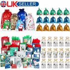 Cello+Drawstring+Christmas+Gift+Bags+%26+Paper+Handled+Bag+Storage+Present+Candy