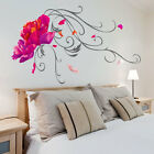 Lotus Flower Wall Stickers Vinyl Art Decals