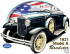 1931 Ford Model A Roadster Official T-shirt 7093