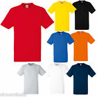 12 FRUIT OF THE LOOM HEAVY COTTON XXXL 3XL T SHIRTS BN