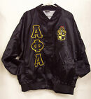Alpha Phi Alpha Satin Baseball Jacket *NEW*