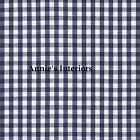 Country Gingham Check Ruffled Curtain Tiers Cafes (Tiers Only)