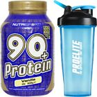 Nutrisport 90+ Protein 1kg Whey Protein Isolate + Shake