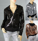 Sexy Party Bling Sequin Blouse Jacket Top 6-12 30560