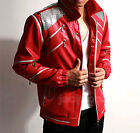 Michael Jackson MJ Costume Beat It Red Jacket Replica *