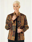 One Mountain Imports Patchwork tapestry jacket size 10, 12, 14, 16 & 18