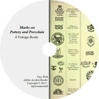 8 Books on CD – Ultimate Collection of Marks on Pottery and Porcelain