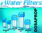 """Whole House Water Filters ATLAS ANTISCALE 5"""",7"""",10"""" with cartridge HA"""