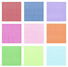 20 gingham bavarian check napkins 9 colours u choose