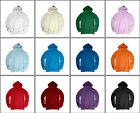New Unisex Heavy Cotton Hoody 12 Colours.(Sz) XS~XL