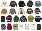 Gymboree Boys Sweaters Cardigans Vest Many Sizes NWT