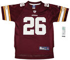Youth sized NFL Washington Redskins #26 Clinton Portis Throwback Football Jersey $19.75 USD on eBay