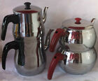 Traditional Teapot Stainless Steel Caydanlik Turkish Double Kettles, XS,S,M,L