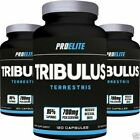 TRIBULUS TERRESTRIS TESTOSTERONE BOOST 60/120/240 CAPSULES NATURAL GROWTH