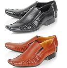 MENS SMART WEDDING SHOES ITALIAN FORMAL OFFICE CASUAL PARTY DRESS SHOES SIZE
