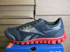REEBOK MENS REALFLEX OPTIMAL GRAVEL-RED-SILVER  J90952  RUNNING ATHLETIC