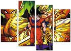ORIGINAL CANVAS ABSTRACT PICTURE LARGE ART PRINTS CONTEMPORARY ART DRAGONBALL Z