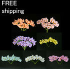144pc Mini Calla Lily Flower Wedding Favor Decor Scrapbooking free shipping