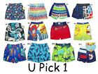 BOYS SWIM TRUNKS BATHING SUIT SWIMSUIT SHORTS NWT BABY TODDLER SUMMER