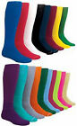 NEW! 1 Pair Solid Soccer Sport Socks in Your Color/Size!