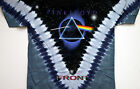 "PINK FLOYD ""DARK SIDE OF THE MOON"" 2-SIDED TIE DYE T-SHIRT NEW"