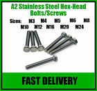 A2 Stainless Steel Hex Head Set Screw Bolts -M10