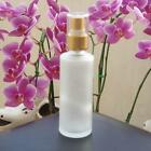 85ml Frosted Glass Bottle Atomizer Perfume Spray / 20mm (choose color)
