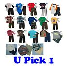 Shirt Pants Top Bottoms 2 PC Outfit Set Baby BOYS FALL WINTER CLOTHES KIDS LOT