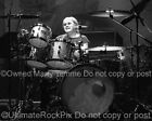 DEEP PURPLE PHOTO IAN PAICE Black and White Concert Photo by Marty Temme Drums