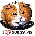 Guinea Pig Tshirts, Nightshirt NWT Kiniart pet critter Ladies & Kids Sizes