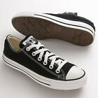 Converse Chuck Taylor CT All Star OX Low Black White Men & Women All Size M9166