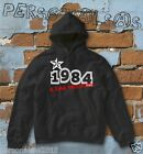 FELPA sweatshirt DATA DI NASCITA 1984 A STAR WAS BORN idea regalo humor