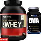 Optimum Nutrition 100% Gold Standard Whey Protein 5lb + ZMA 120 Tablets