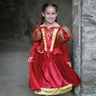 Medieval Queen Guinevere DLX fancy dress BNWT 3-11yrs Royal Girls Costume Tudor