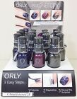 ORLY Nail Lacquer - FEEL THE VIBE, DARK SHADOWS, MagneticFX .6oz/18ml