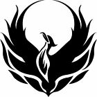 Phoenix Bird Sticker Decal 4 Laptop Car Window Boat Game Console Truck Scrapbook