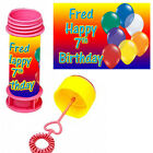 Personalised Childrens Bubbles for party bags Birthdays or any occasion!!!
