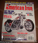 """AMERICAN IRON MAGAZINE MARCH 2000 107"""" VINTAGE SPORT INDIAN CHIEF HARLEY DAVIDSO"""