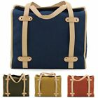 Unihood Brand New Canvas Messenger Bag Womens Tote Shoulder Cross Body Bags