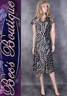 New SOON Black White Dress Size 10 12 14 16 Mother of the Bride Evening Party