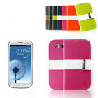 Free Shipping Galaxy S3 Case Wallet Stlye Cover  Skin for Galaxy S3 Samsung