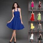 Stock Size6-16 Sexy Women's Wedding Bridesmaid Strapless Cocktail Party Dress