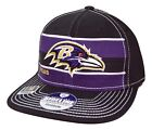 Baltimore Ravens Reebok NFL Football Scrimmage Stretch Fit Flat Bill Cap Hat $21.95 USD on eBay