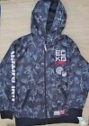 ECKO UNLIMITED YOUTH POLYESTER CAMO JACKET W/HOOD MESH LINING EASY CARE LIST $56