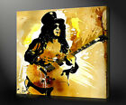 SLASH MUSIC GUNS N' ROSES CANVAS PRINT PO ART MANY SIZES COLOURS FREE UK POSTAGE