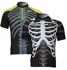 New Men's Cycling Short Sleeve Jersey Bike Bicycle Shirt Only 2 Style Size S-3XL