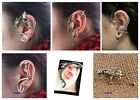 1 PCS Gothic Punk Snake Dragon Animal Flower Ear Cuff Stud Earring HOT