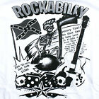 ROCKABILLY MYSTERY TRAIN T-SHIRT ROCKABILLY PSYCHOBILLY PUNK HOT ROD ALL SIZES