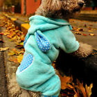 Pet Dog Puppy Spring Autumn Alice rabbit heart suit sportswear Costume Clothes